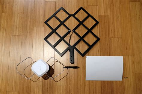 hdtv antenna and cable together the best indoor hdtv antenna for cities today tested