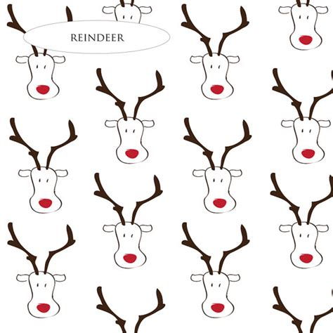 reindeer printable wrapping paper reindeer christmas wrapping paper festival collections