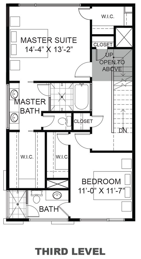 urban loft floor plan 2354 commerce street urban lofts townhomes