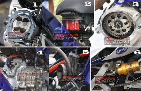 modifikasi new jupiter mx 150 ala road race kelas 150 4t