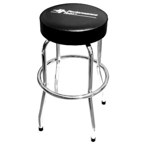 performance tool chrome plated pneumatic rolling bar stool ebay performance tool w85008 professional hydraulic shop seat