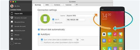 xiaomi und mac mit syncmate synchronisieren