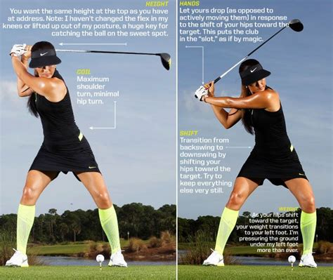 legs during golf swing want to improve your driver michelle wie 2014 u s women