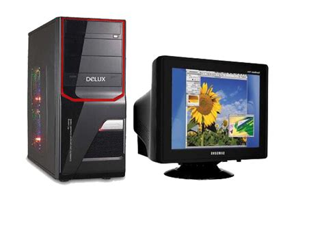 Monitor Cpu Amd Athlon Dual Cpu With 17 Crt Monitor Clickbd