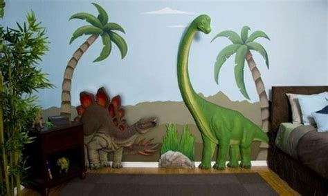 dinosaurs wall themes for room interior design