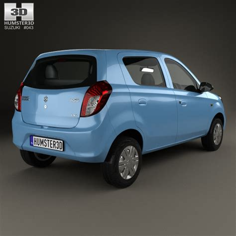 Maruti Suzuki Maruti 800 Suzuki Maruti Alto 800 2014 3d Model Humster3d
