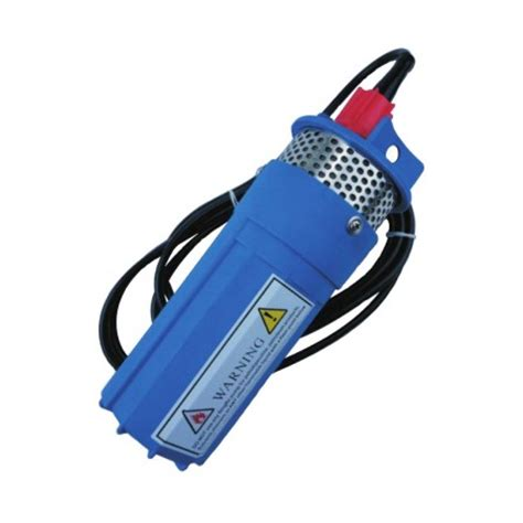 submersible pump 24 volt dc, 1.3 gpm, for 4 inch pipe