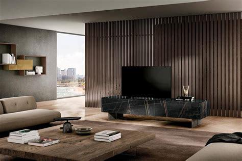 materia el mueble tv suspendido en cristal diseno lago