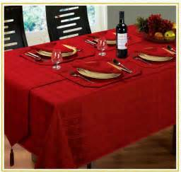 jacquard dining tablecloths round oblong square christmas
