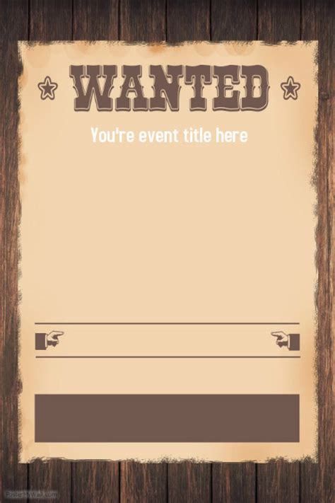free western invitation templates wanted western themed invitation flyer template