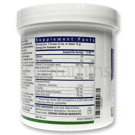 Niteworks Nitework Herballife Niteworks Herballife Herbal herbalife niteworks kosher lemon 150 g evitamins