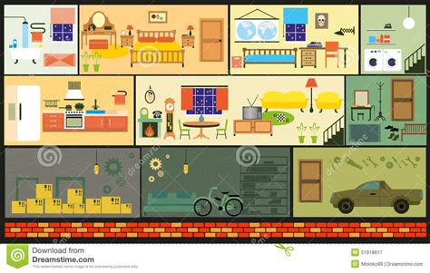 House Exterior Design Pictures Free Download by Cartoon Family House Stock Vector Image 51918817