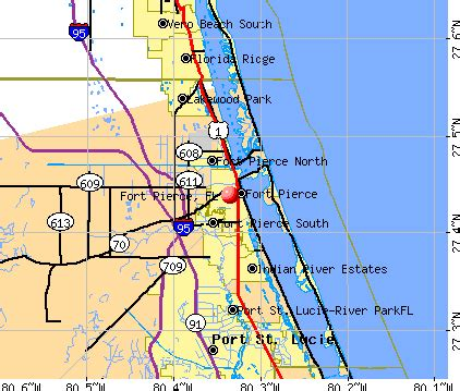 Fort Pierce Florida Map by Fort Pierce Florida