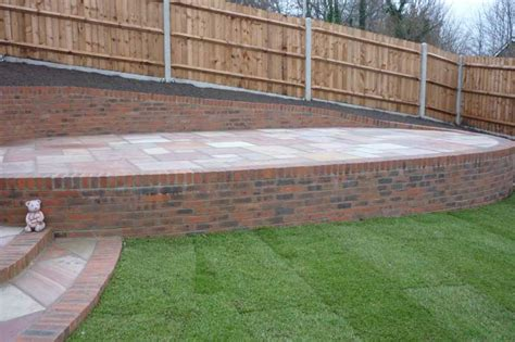 Allscapes Brickwork Rendering How To Build A Brick Retaining Wall Garden