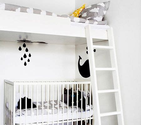 Bunk Bed With Crib Underneath by Best 20 Bunk Bed Crib Ideas On Toddler Bunk