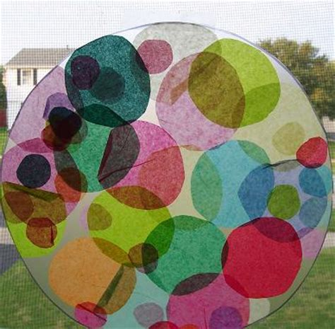 Tissue Paper Suncatcher Craft - best 25 sun catcher craft ideas on