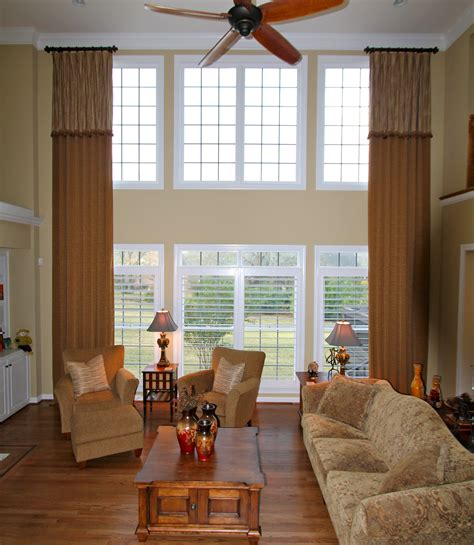 Handmade Window Treatments - nothing gives a room more drama and pizzazz than