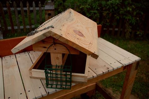 Bench Bird Feeder Potting Bench And Bird Feeder All Reclaimed Wood By