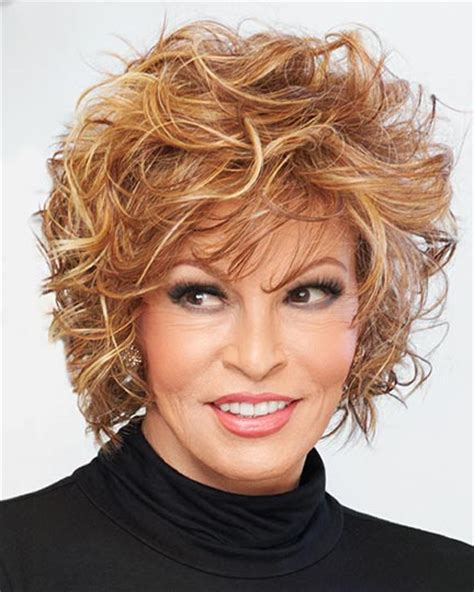 cutting hair so it curves under raquel welch wigs
