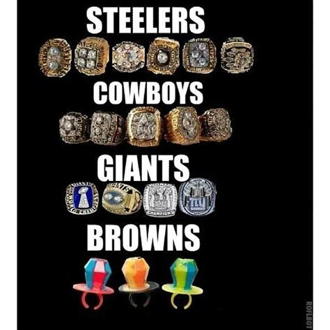 Ring Pop Meme - breaking news cleveland browns win 3 chionship ring po