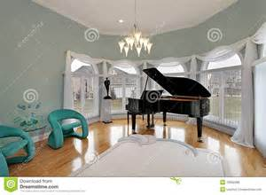 wonderful House Interior Living Room Design #5: music-room-green-chairs-12662388.jpg