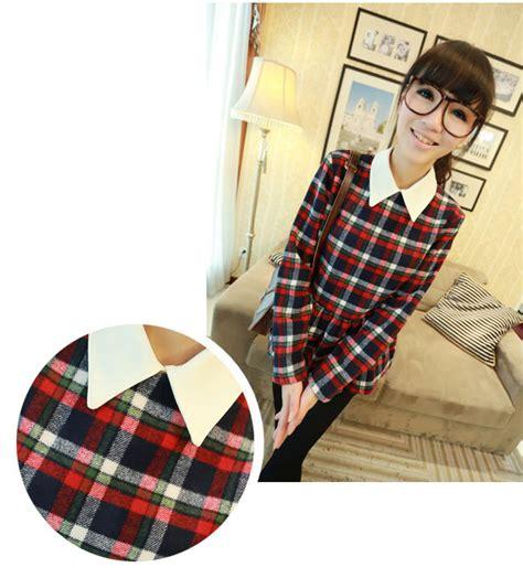 Blouse Salur Kemeja Import blouse kemeja wanita import sangat trendy shopashop