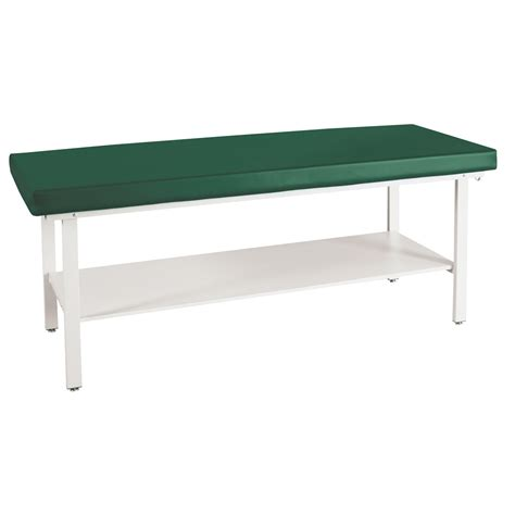 standard treatment table with shelve winco treatment