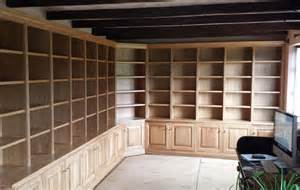Wooden Bookcases With Adjustable Shelves Bespoke Wooden Shelf Units Custom Made In Yorkshirefine