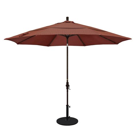 California Umbrella 11 Ft Aluminum Collar Tilt Double 11 Patio Umbrella