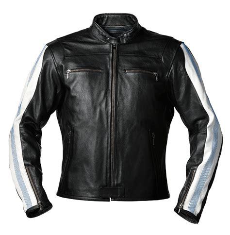 Bmw Motorrad Lederjacke Club by Bmw Jacke Club Leder F 252 R Herren Schwarz Wei 223 Blau