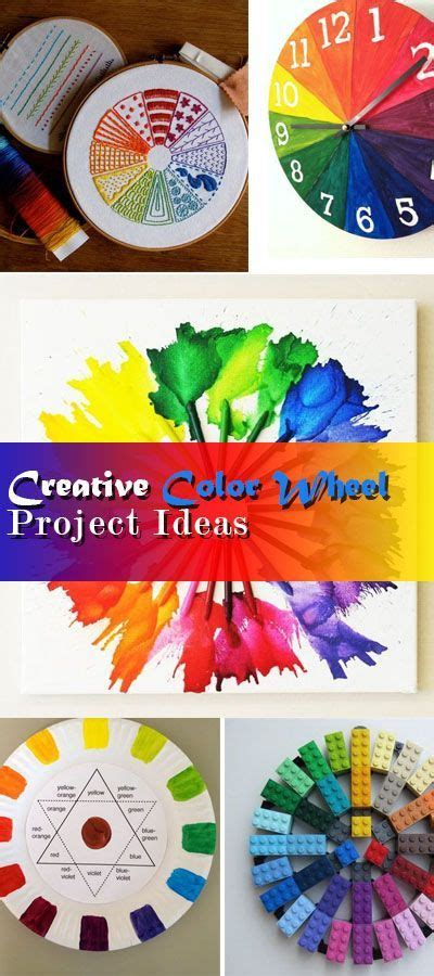 themes for colour project creative color wheel project ideas color wheel projects