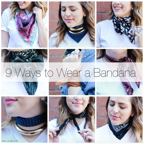 different ways to wear a bandana with short hair simplyaudreekate wiw bandana simply audree kate