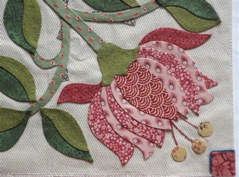 Patchwork Applique - esther s quilt flowers for me