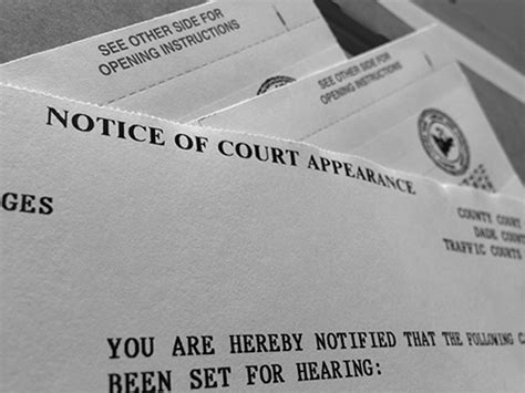 Miami Dade Traffic Court Search Notice Of Court Appearance Ticketfit Blogticketfit