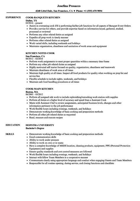 sample resume for line cook mollysherman