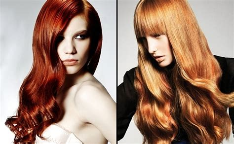 pictures of hair color for women in their 70 red hair color of long haircuts as nice hair for women
