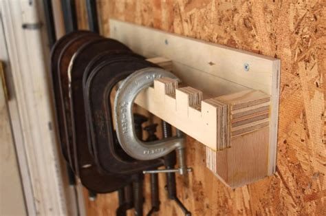 clamp storage systems woodworking  mere mortals