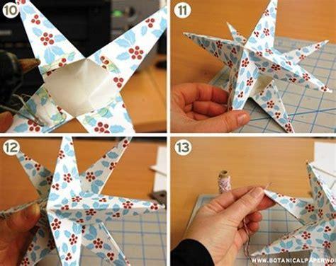 como hacer estrellas de navidad estrellas de navidad manualidades imagui