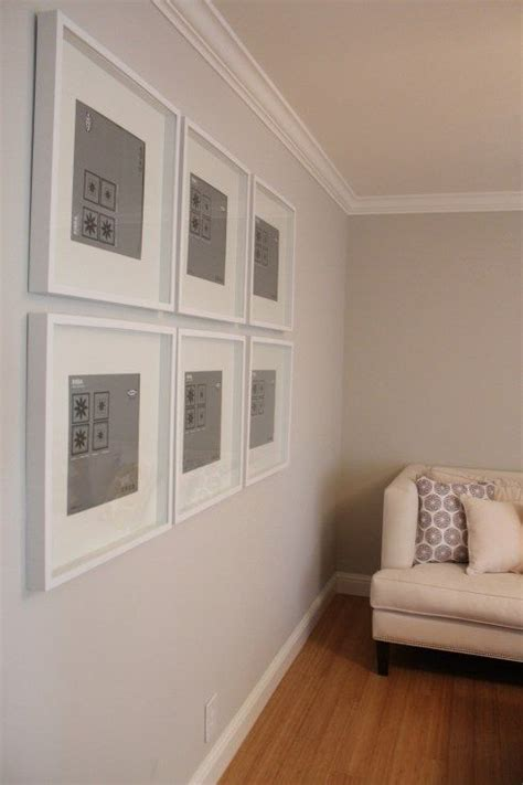 Gallery wall using Ikea Ribba Frames   Photography