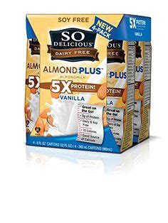 Shelf Of Almond Milk by So Delicious Chocolate Coconut Milk Shelf Stable 4 Count