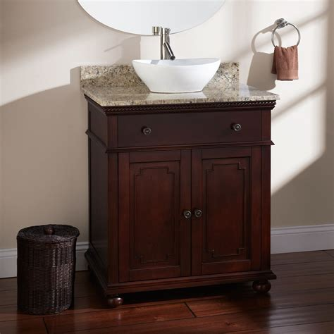 Vanity For Vessel Sinks by Vessel Sink Vanity With Single Sink For Tiny Bathroom