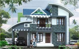 Floor Plans And Elevations Of Houses by Modern House Elevation In 2369 Square Feet House Design