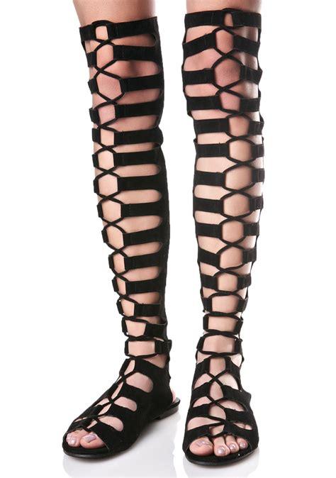 black lace up gladiator sandals black lace up gladiator sandals dolls kill