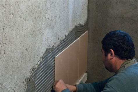installing bathroom tile wall how to install wall tile in bathroom howtospecialist