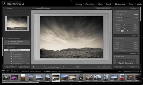 lightroom tutorial slideshow review adobe photoshop lightroom 4 webdesigner depot