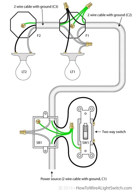wiring diagram two lights in series jeffdoedesign