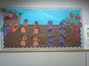 Garden Bulletin Board Ideas Garden Vegetable Bulletin Board School Paper Craft School Gardens Crafts And