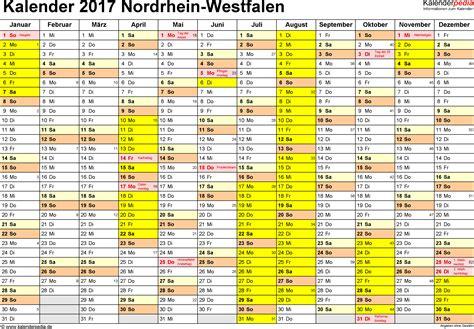 wann sind die herbstferien in nrw ferien nordrhein westfalen nrw 2017 220 bersicht der