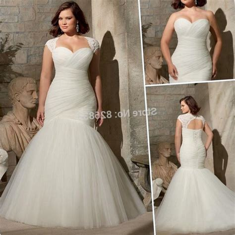 Best wedding dress styles for plus size   PlusLook.eu