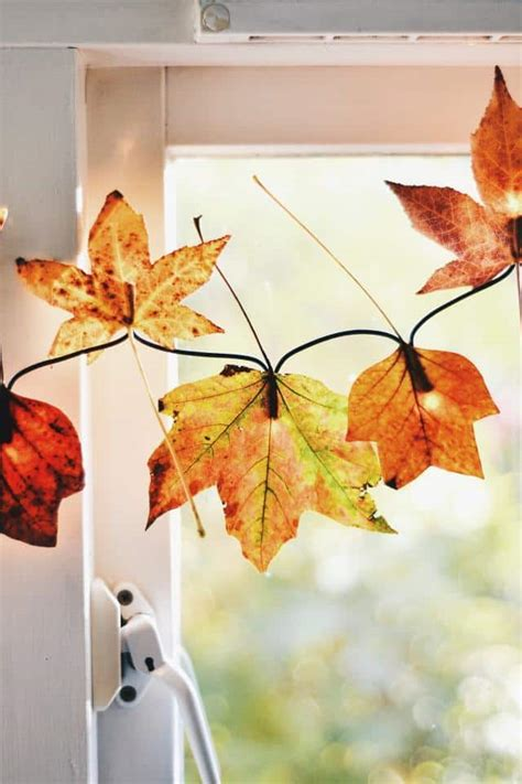 diy ways to use fall leaves